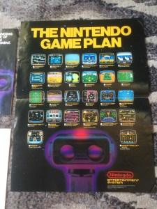 NES Poster - Game Plan - 04-26-86- Credit ars2pd NintendoAge