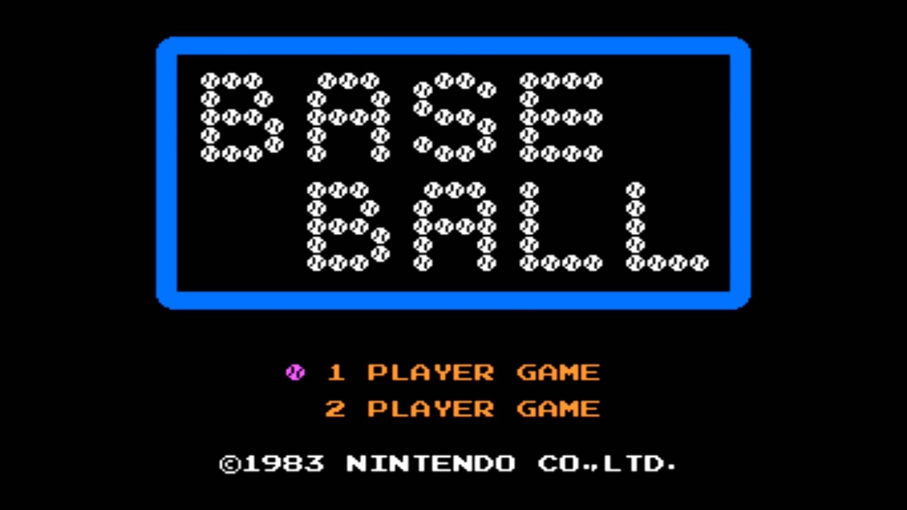 Baseball (NES) Game Hub