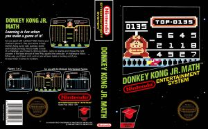 Donkey Kong Jr Math Box