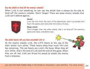 The Legend of Zelda Instruction Booklet - 20