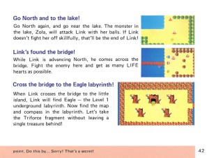 The Legend of Zelda Instruction Booklet - 42