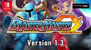 Blaster Master Zero Gets Shovel Knight & Shantae DLC