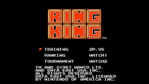 Ring King (NES) Game Hub