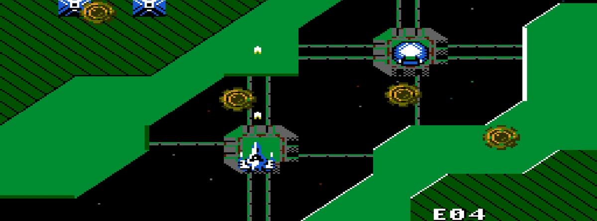 Alpha Mission (NES) Game Hub