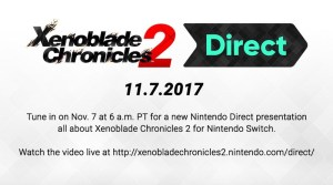 Xenoblade Chronicles 2 Nintendo Direct Announced