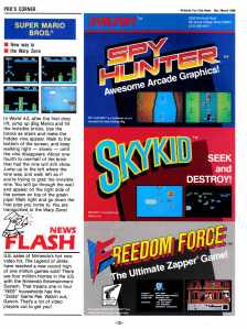 Nintendo Fun Club News | Feb-Mar 1988 Tips Tricks-2