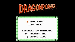 Dragon Power (NES) Game Hub