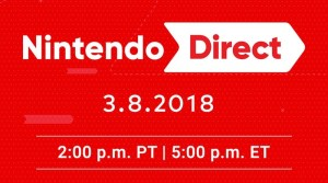 30-Minute Nintendo Direct March 8 Covering Switch & 3DS