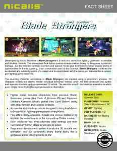 Blade Strangers - Fact sheet FINAL2