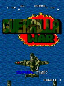 Guerilla War (Arcade) 01