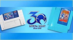 Mega Man 2 & Mega Man X Get 30th Anniversary Carts