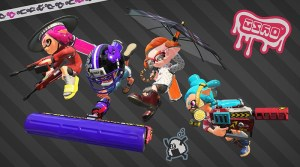 Wahoo World & 4 New Weapons Now Available In Splatoon 2
