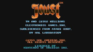 Joust (NES) Game Hub