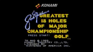 Jack Nicklaus' Major Championship Golf (NES) Game Hub