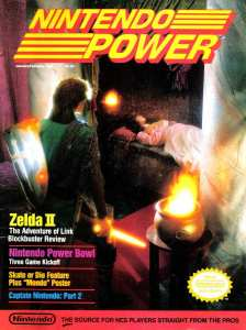 Nintendo Power | Jan Feb 1989-Cover