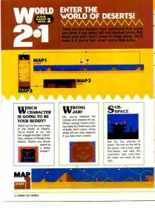 Nintendo Power | July Aug 89 | SMB 2 Hint Book - 12