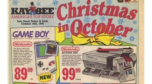 Kay-Bee Toys Ad Showcases Game Boy, NES & Genesis