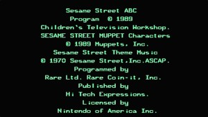 Sesame Street: ABC (NES) Game Hub