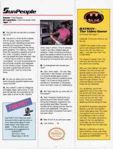 Sunsoft Game Time News 04 Fall 1989 page 2