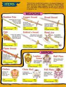 Nintendo Power   November December 1989   Dragon Warrior Strategy Guide pg-10