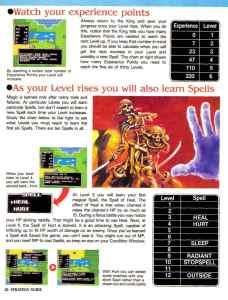 Nintendo Power   November December 1989   Dragon Warrior Strategy Guide pg-26