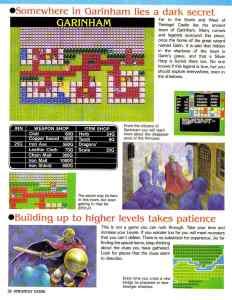 Nintendo Power   November December 1989   Dragon Warrior Strategy Guide pg-28