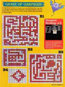 Nintendo Power | November December 1989 | Dragon Warrior Strategy Guide pg-31