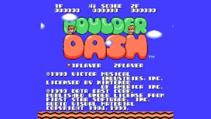 Boulder Dash (NES) Game Hub
