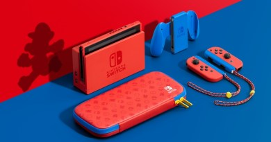 Special Mario Red & Blue Switch Edition Announced