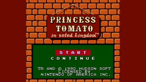 Princess Tomato In The Salad Kingdom (NES) Game Hub