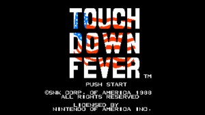 Touchdown Fever (NES) Game Hub