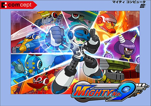 Mighty No 9 Beck Color Change (Revised)