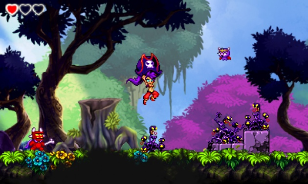 Shantae and the Pirates Curse Cover Forest