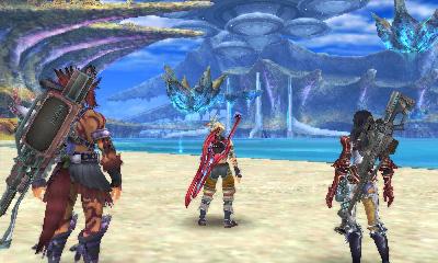 Xenoblade Chronicles 3D Coastal