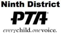 Ninth District PTA logo