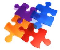 Inclusion puzzle piece