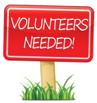 Volunteers needed clip art
