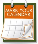 Mark Your Calendar chipart