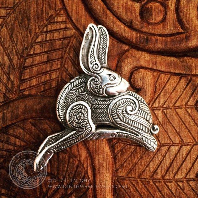 Shop update of Irish Hare pendants today  a limitedhellip