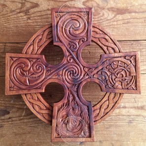 The completed Elemental Celtic Cross.