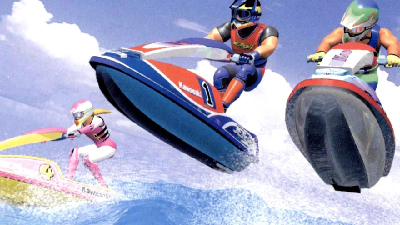 Wave Race Artwork