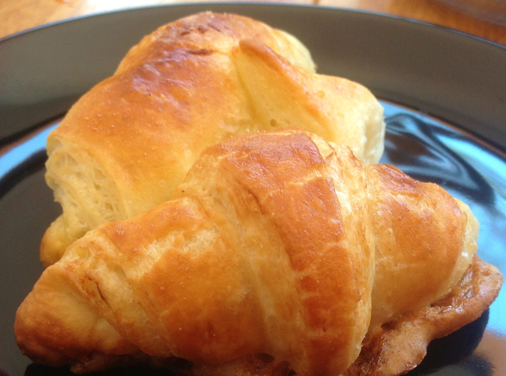 Perfectly Risen And Fluffy French Butter Croissants Recipe The Easy Way In The Breadmaker