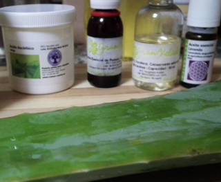Natural preservatives to make Aloe Vera gel last a lot longer