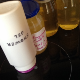 Home Made Liquid Castile Soap from Scratch. Great for using in home made shampoo and body wash