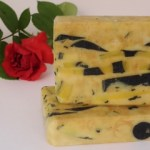 home made soap with aloe vera