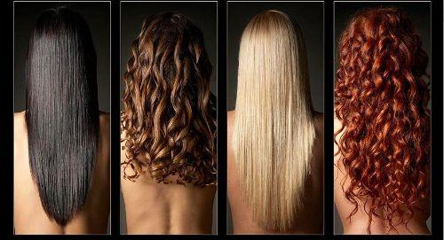Beautiful hair in all colors