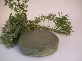 aromatic spices and herbs in soap making. antibacterial, cleansing and exfoliating recipe