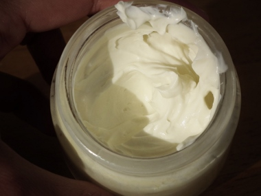 diy face cream, home made nourishing cream, diy cream with olivem 1000, diy sunscreen with zinc oxide