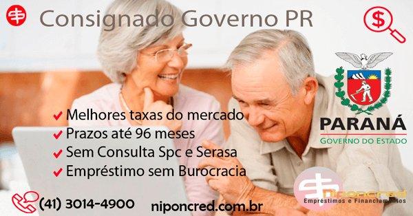 Empréstimo Consignado Governo Paraná