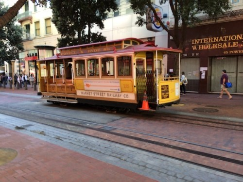 Tram in San Francisco